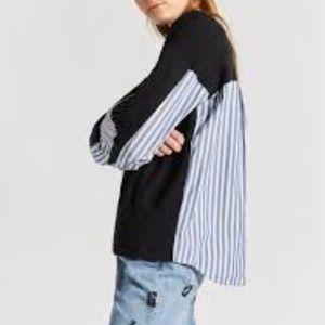 Current/Elliott The Recrafted Sweatshirt size 0